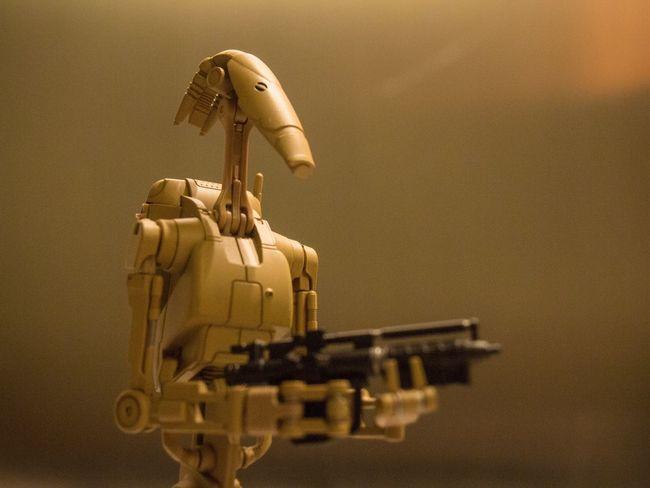 """Roger roger"" Star Wars SHfiguarts Shfiguartsphotography Battle Droid Battledroid Star Wars Prequels Toyphotography Toycommunity Toyboners Justanothertoygroup Toyphotographer"