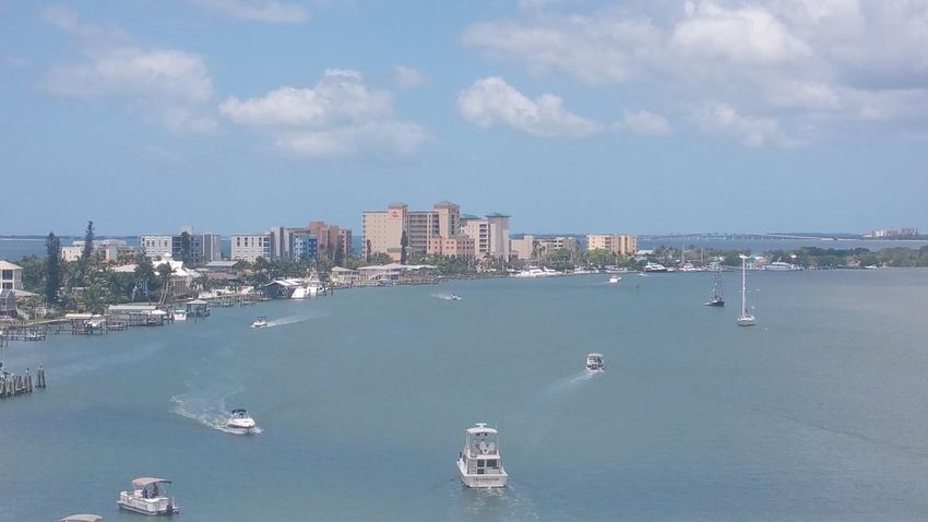 Today's view Traffic Jam Fort Myers Beach