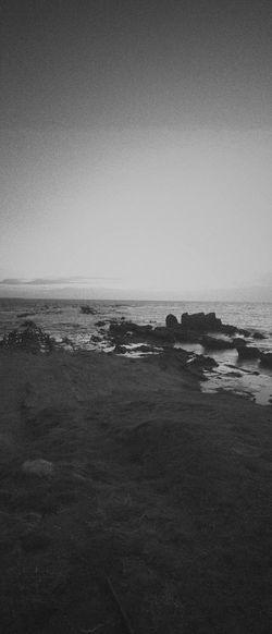 Black And White Seaside Minimalism Vscocam Panorama