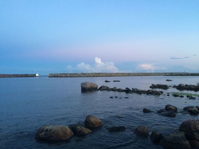 Water Nature Sea Beauty In Nature Landscape Sky Cluds Harbour View Zoom Focus Blue Purple