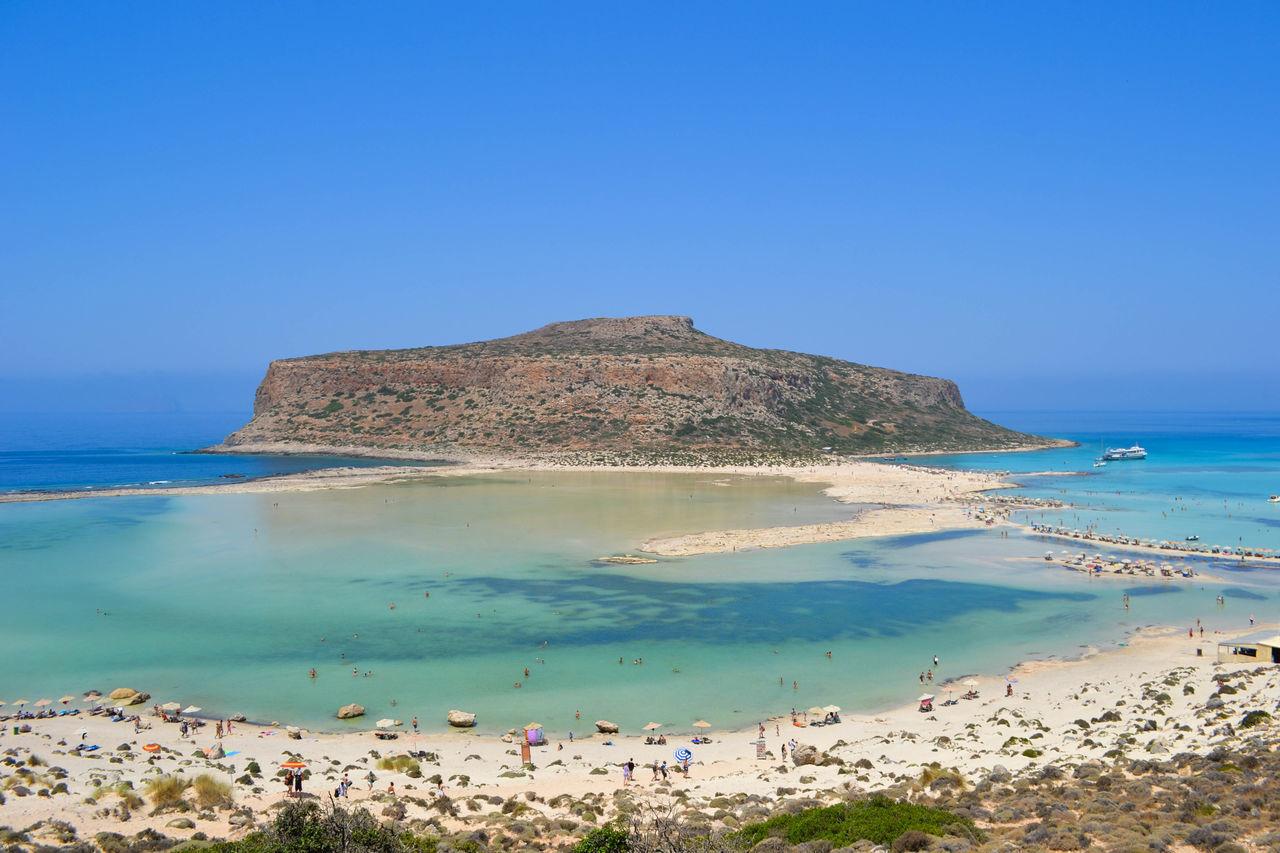 The lagoon Balos Balos Lagoon Creta Crete Grecia Greece Sea Beach Sand Water Scenics Outdoors Nature Blue Landscape Beauty In Nature Sky Summer The Great Outdoors - 2017 EyeEm Awards