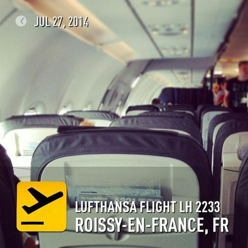 Leaving Paris and boarding my @Lufthansa lift home. Upintheair Flyingmuc