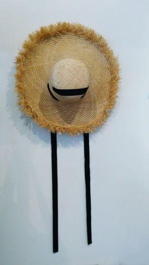 Summer hat. Hat Straw Hat Summer Hat