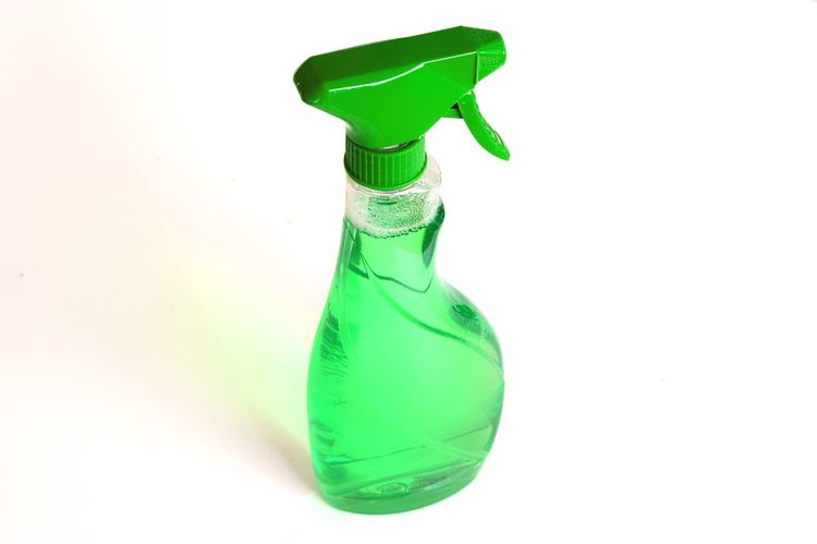 Cleaning Cleansing Flacon Foam Green Household Hygiene Liquid No People Product Products Spray Spraying Studio Shot White Background