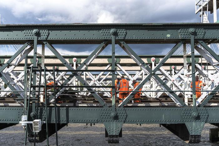 Bridge Cloud - Sky Cloudy Day Development Engineering London Metallic Outdoors Sky Thames River EyeEm LOST IN London