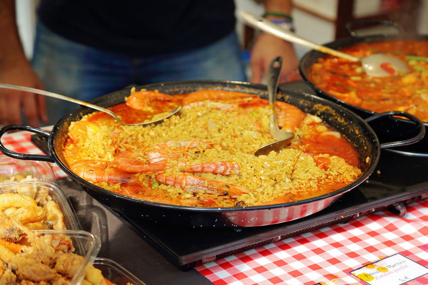 Barcelona, Spain Barcelona Street Market Street Market Mercado Candies Chocolate Cookies Sweet Sandwich Jamon Serrano Jamón Ibérico Sausage Hand-made Paella Mariscos Frescos Marisco Truffles Cheese! Mussels Sea Food
