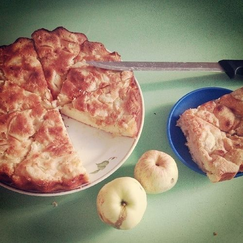 яблочныйпирог яблоки Вкусняшка