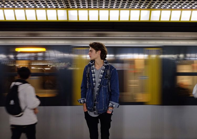 On The Move Subway Train Waiting City Life EyeEm Gallery Youth EyeEm EyeEm Best Shots EyeEmBestPics Fujifilm_xseries Fuji The Week Of Eyeem