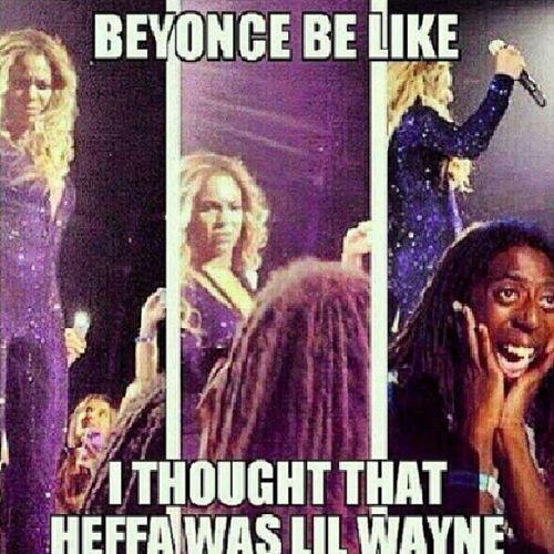 hahaha!! ?? Beyoncebelike Lilwayne Smh Kmsl hilarious dead tag4tags like4likes instafunny