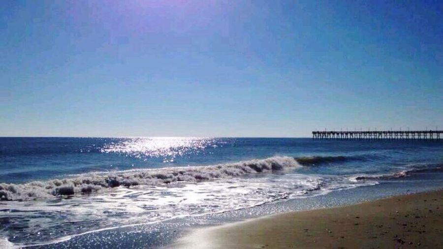 Beach Pier Ocean Sand