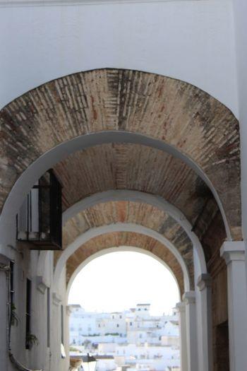 Arco de las monjas Pueblo Blanco Travel Destinations Arch Architecture Built Structure Day History