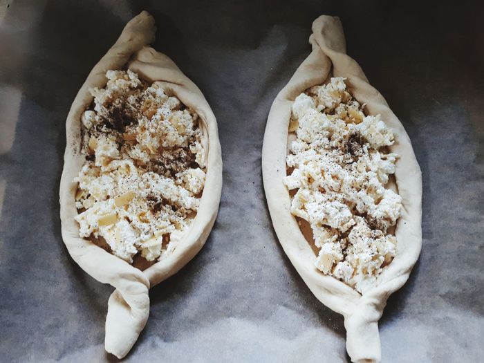 Chaczapuri FirstTime Gruzja Pycha Food Foodphotography EyeEm Selects Homemade Studio Shot Baked Close-up Food And Drink