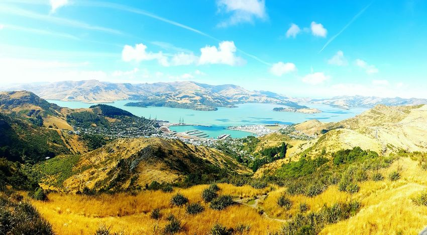 Clear Sky Sunshine Christchurch New Zealand Morning View Mountain View Wondering The World Nature Blue Skies ⛅ Blue Sea,blue Sky Christchurch Gondola Beauty In Nature Landscape Outdoors Vacations Sea View Sitting On The Edge Harbour View Sweet Moments Travel Photography No Limits Lyttelton Harbour Diamond Harbour