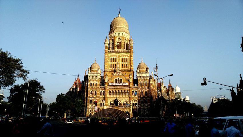 The infamous Mumbai CST Terminus!!! ;) Awesomeplace Beautiful