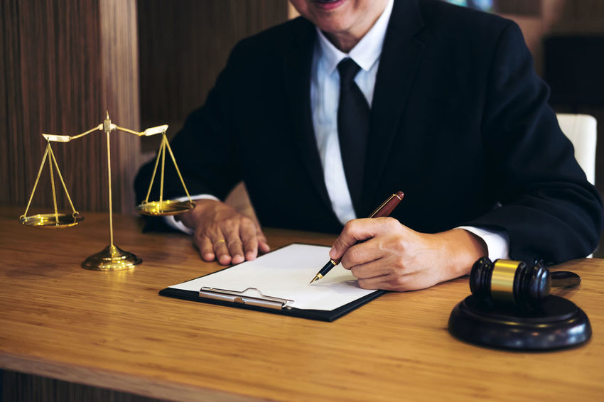 Lawyer Balance Barrister Business Business Person Businessman Consultant Fairness Formalwear Front View Gavel Holding Indoors  Inheritance Judge Judgement Legal Legislation Men Occupation Office One Person Suit Verdict Well-dressed