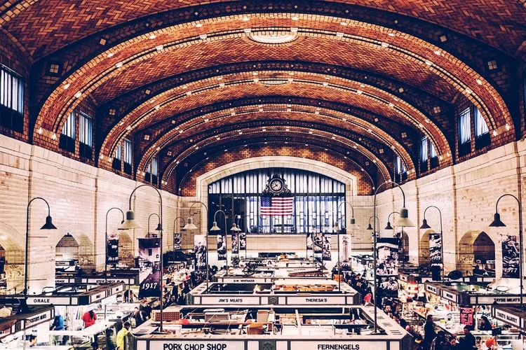 Arch Architecture Day Design Historic Indoors  Market Pattern