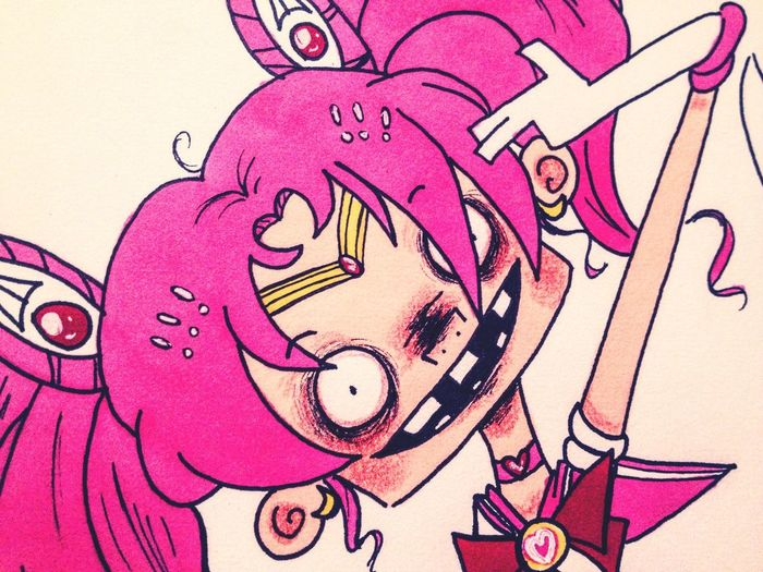 Cute Sailormoon Fanart Wip Cartoon Doodle Anime Drawing Sketch Art
