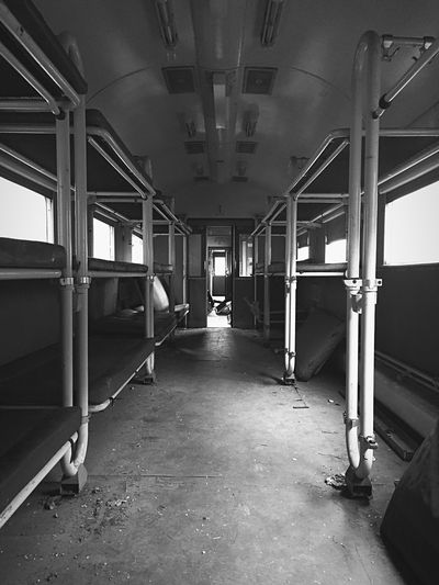 The Way Forward No People Transportation History Abandoned Time Train - Vehicle Tranquility IPhone 6 📷