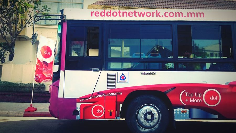 Reddotnetwork Reddot Myanmar Bus Streetphotography Yangon Branding Campaign