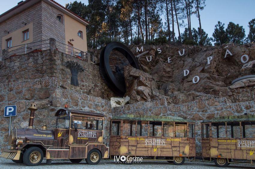 Tourist Train of the Bread Museum Serradaestrela Seia Museum City Tour