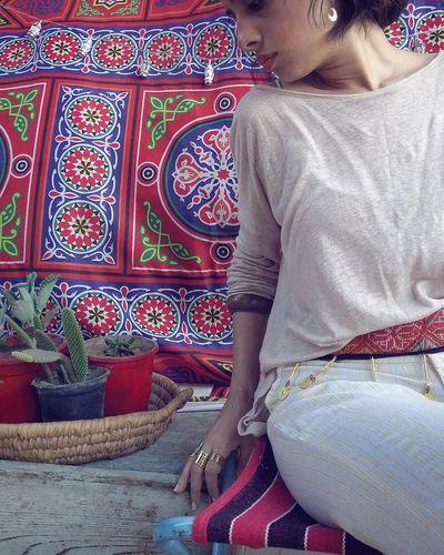 Only Women One Person Indoors  Lanterns Decor Decoration Balcon Balcony Plants 🌱 Cactus Selfie ♥ Boho Boho Chic Bohemian EyeEm Selects