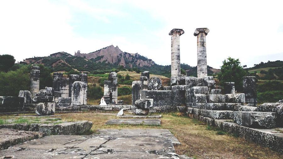 Archeology Sky Architecture Built Structure Civilization Historic