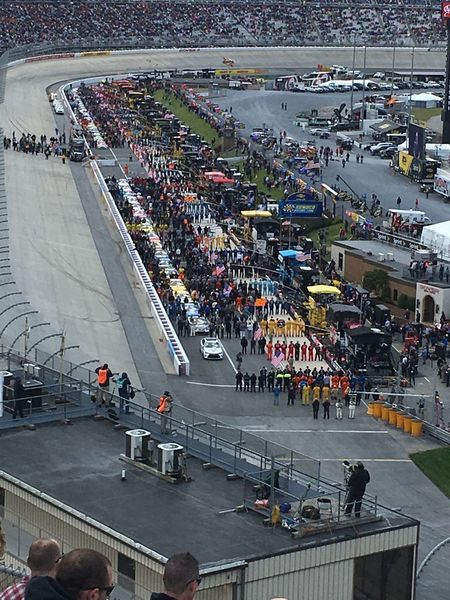 NASCAR Dover Delaware National Anthem Moments Racing Racetrack Race For Life High Angle View Highlife High Section Millertime Amazing View America Race Day Lets Go Racing Dover International Speedway Bucketlist Patriotism