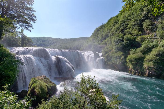 Beauty In Nature Nacionalni Park Una Nature River Scenics Una Water Waterfall