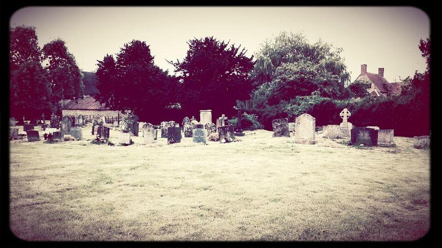 Beautiful Day Photography Graveyard Beauty