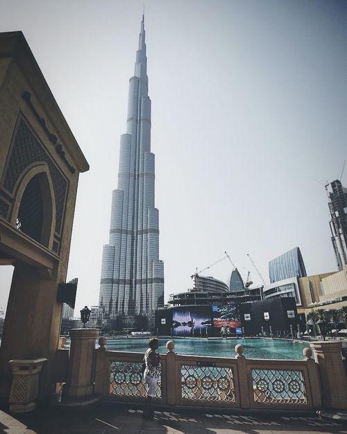 Dubai Dubai❤ Dubaicity DubaiMall Burjkhalifa Burj Khalifa Building Highest Highestbuilding Eyem Best Shots The Week On Eyem Streetphotography Perfectview Landskape