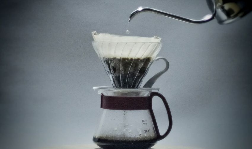 Pour Over Coffee - Drink Drink Kettle Coffee Cup Coffee Drip Coffee Hario Dripper fresh coffee