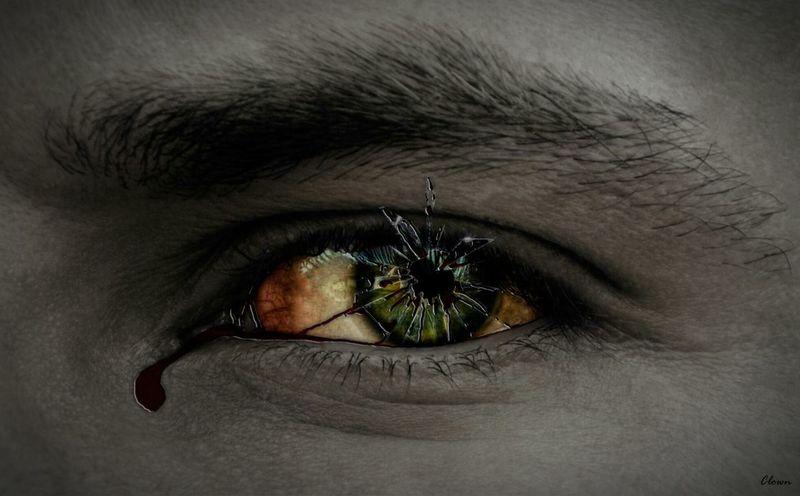 Eyes Myeyes Myeye Broken Photoshop Pain Mind  Conscience Disintegration