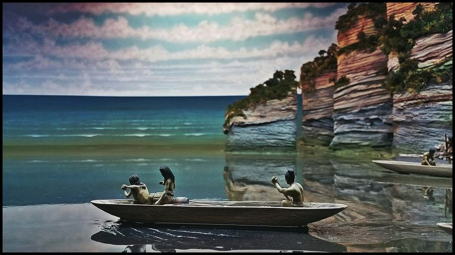 Check This Out Model Diorama Of History New Zealand Maori Culture