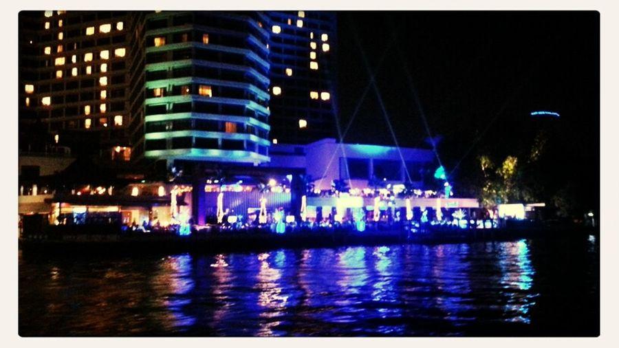 Eye4photography  Night Lights; By Chao Phaya River, BKK, THA Nightcall Divestreetphotography