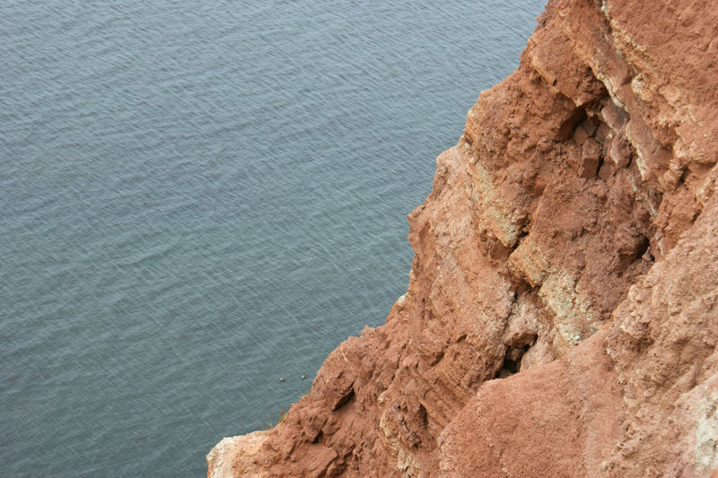 Red cliff, view