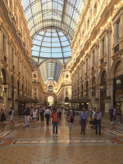 Milano Galeria Umberto I Enjoying Life Traveling