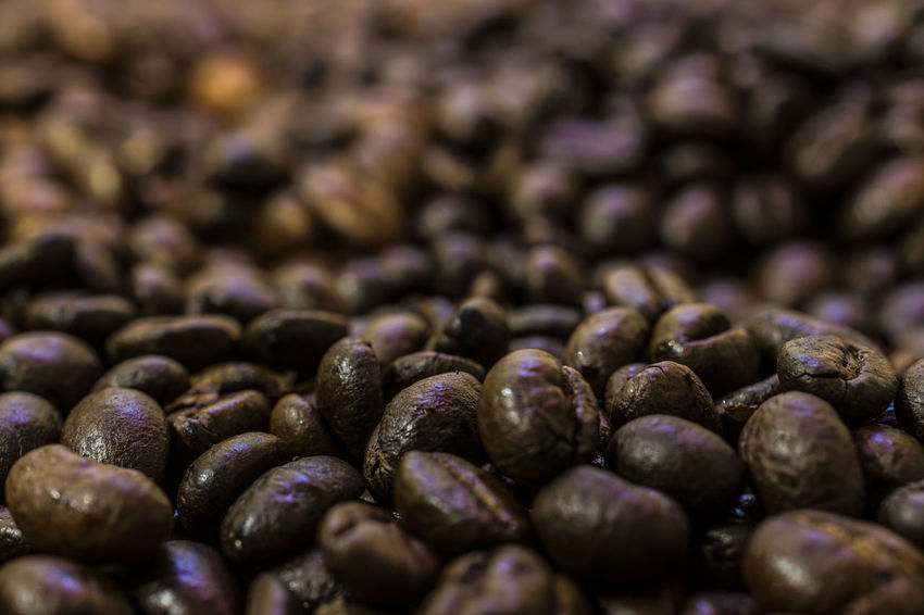 Coffee - pure natural ENERGY Abundance ARTsbyXD Background Backgrounds Brown Close-up Coffee Coffee Bean Coffee Time Day Food Food And Drink Freshness Full Frame Healthy Eating Indoors  Large Group Of Objects Macro Nature No People Raw Coffee Bean Selective Focus Stockphotography Texture Textured