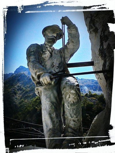 Carrara Cava Fantiscritti Alpiapuane Sculpture