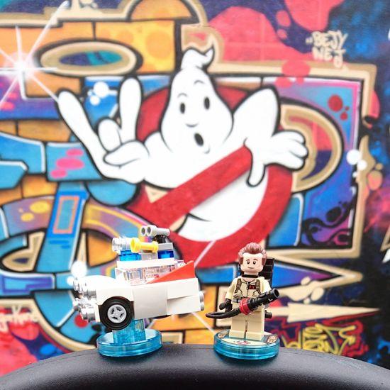 Gohstbusters Streetart Graffiti Legodimensions Gohst