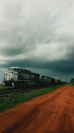Overcast No People Social Issues Storm Cloud Thunderstorm Landscape Business Finance And Industry Nature Storm Sky Outdoors Architecture Day Ferrovia Trainphotography Rumo
