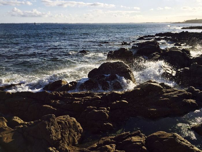 Sea Water Beauty In Nature Rock Sky Land Scenics - Nature