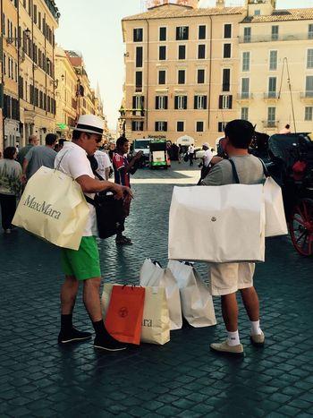 Shopping ♡ Chinese Going Crazy Rome Shoppingbag Shoppingaddict Shoppingmania