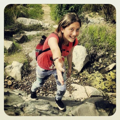 Give me a hand! Hiking Vans_are_cool Red Trails calikids funtime pod alohagirl