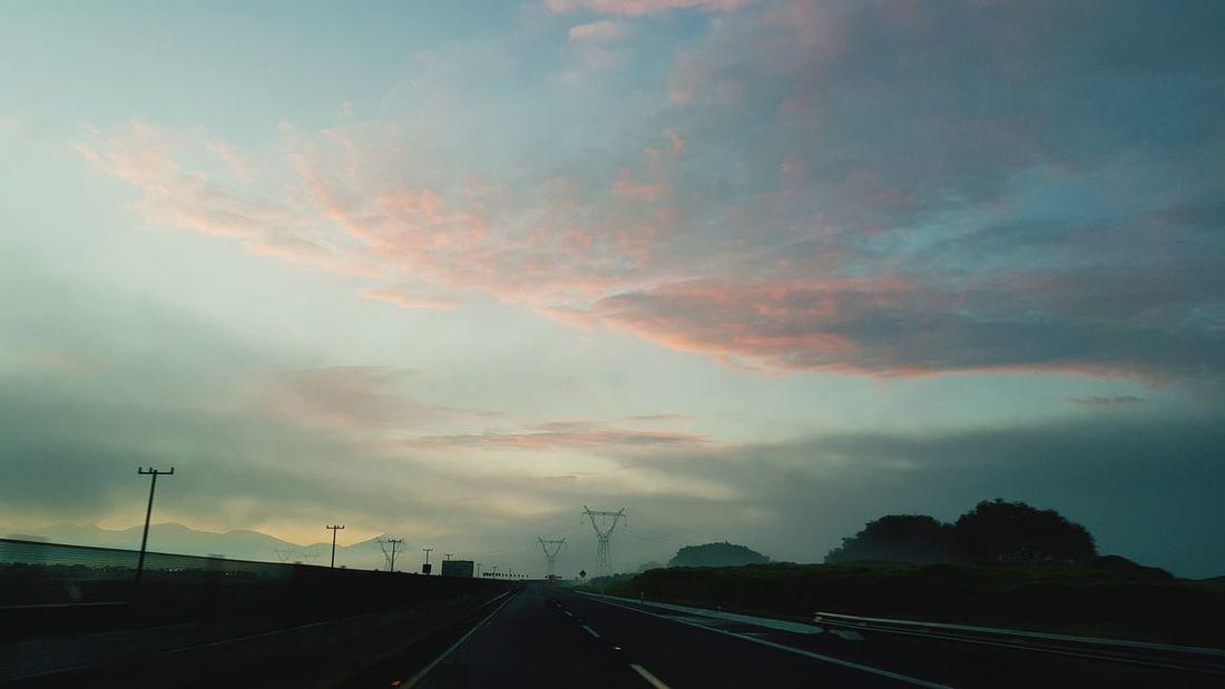 Storm Cloud Power In Nature Thunderstorm Road Car Tornado Dramatic Sky Sky Cloud - Sky