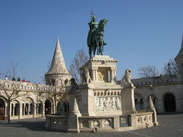 Statue Travel Destinations Sculpture Architecture Horse Animal Representation History Tourism Travel Monument Outdoors Hungary Budapest