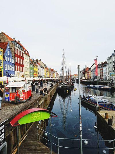 🇩🇰🤩🇩🇰 love city ❤ Biutiful Love Cophenhagen City Water Sky