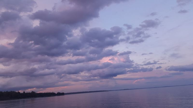 Sky Sky And Clouds Storm Cloud Oceanlife Ocean And Sky Ocean View Oceanfront Ocean Shores Sea Cloudscape Cloud Calm Tranquil Scene Water Nature Non-urban Scene No People Outdoors Remote Majestic Shore Tranquility Beauty In Nature Cloud - Sky Maine
