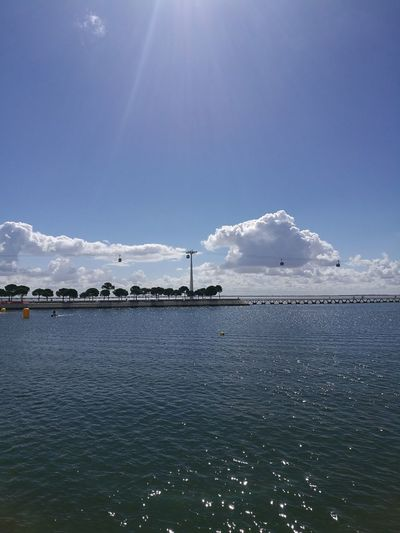 Sea Water Sky Cloud - Sky Outdoors Day Beauty In Nature