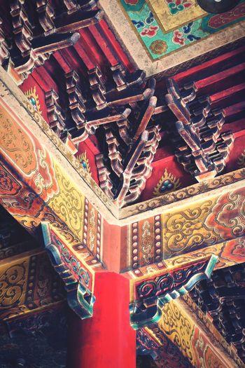 廟宇 古蹟 媽祖 廟宇 Indoors  Multi Colored No People Pattern Day
