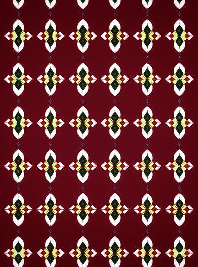 Full frame shot of patterned hanging
